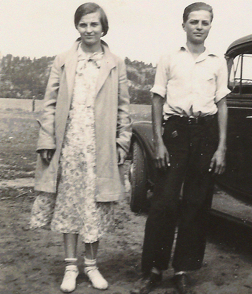 Merle and Gale Durham - undated