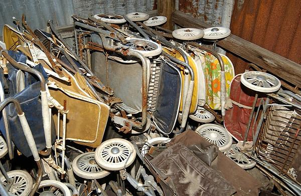 Storage damage 2007-08 Shed 2