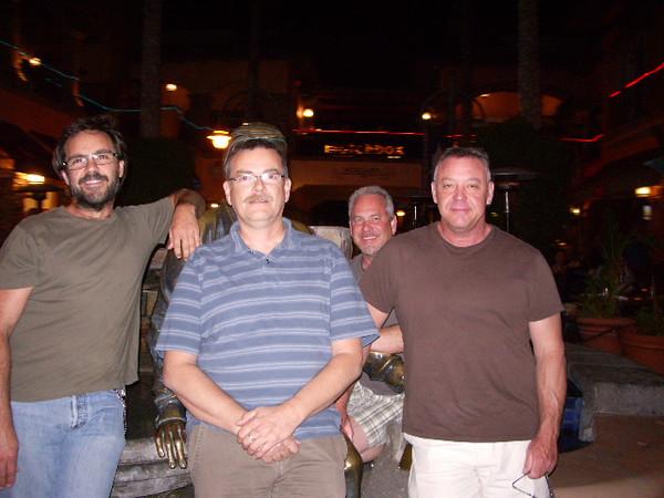 Jeff, Gary, John and Joe - Palm Springs, California