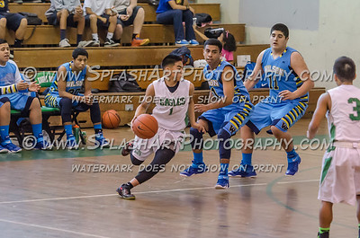 2015 Basketball Eagle Rock Boys vs Wilson 16Jan2015