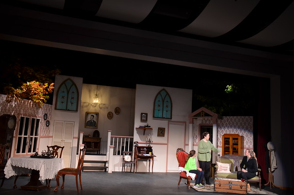 Arsenic & Old Lace - 11/2/15 Tech Rehearsal