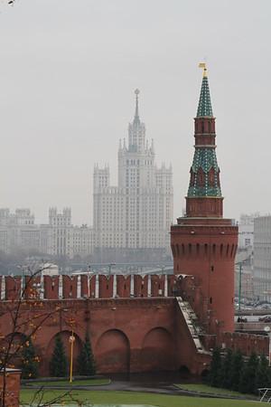 Москва. Кремль. 6 ноября 2013