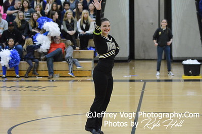 1-09-2016 Poolesville HS Varsity Poms at Northwest HS, Photos by Jeffrey Vogt Photography with Kyle Hall