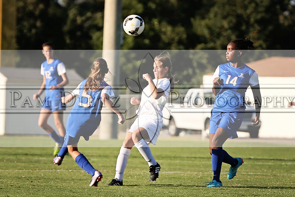 USJ Middle School girls Soccer v JC 9-22-16