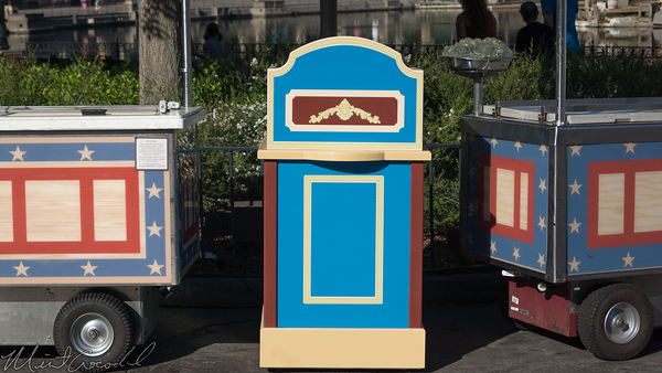 Disneyland Resort, Disneyland, Frontierland, Ice Cream, Ice, Cream, Outdoor Vending, Outdoor, Vending, ODV, Podium