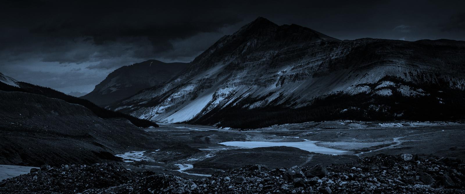 加拿大哥伦比亚冰川,大自然的威力