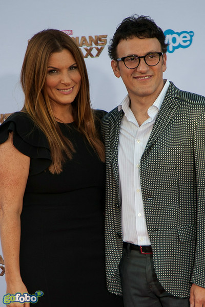 HOLLYWOOD, CA - JULY 21: Director Anthony Russo (R) and Ann Russo attend Marvel's 'Guardians Of The Galaxy' Los Angeles Premiere at the Dolby Theatre on Monday July 21, 2014 in Hollywood, California. (Photo by Tom Sorensen/Moovieboy Pictures)