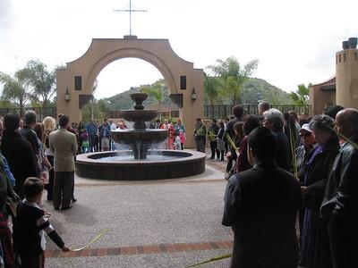 First Palm Sunday Celebration