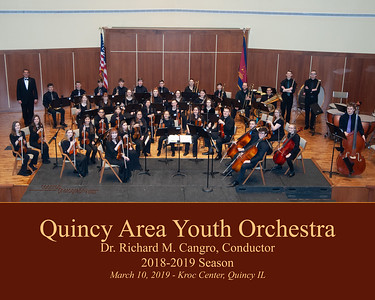 Quincy Area Youth Orchestra - 2018-2019
