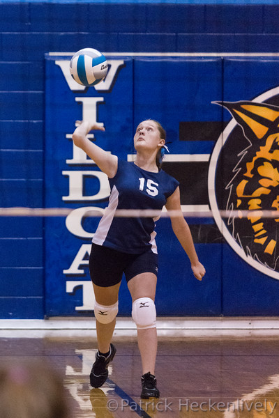 2015-10-05 Hillsdale Academy Junior High Volleyball vs. Pittsford