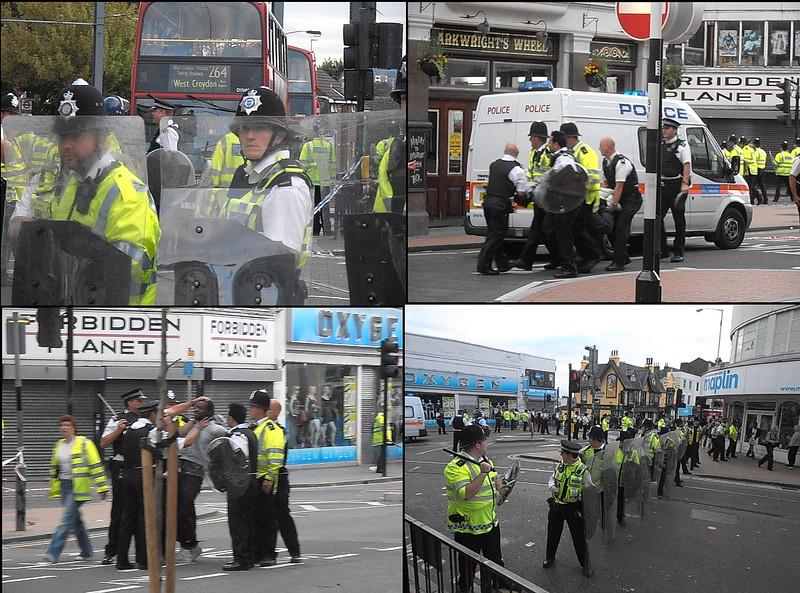 Croydon Riot begins