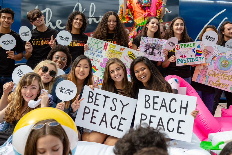 2018_11_03, Beach, Beach Bed In, Bed In, Bed In on the Beach, Bus, Come Together, Come Together Miami, Exterior, FL, Florida, Miami, Miami Beach, The Betsy, The Betsy Hotel