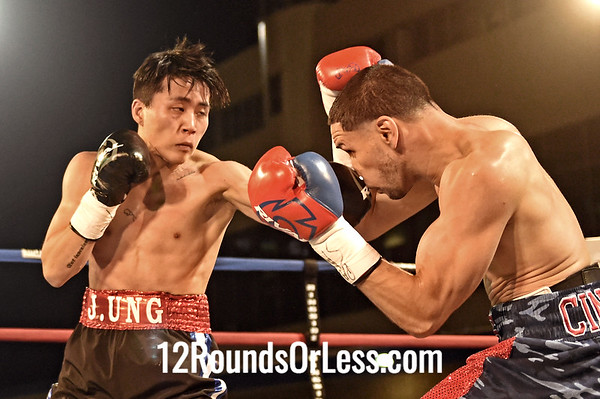 Bout 9=Main Event, Antonio Nieves, Cleveland -vs- Tae Woong Jung, Bucheon, South Korea, Bantamweight