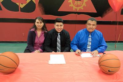 El Dorado High School Signing Jacob Lopez and Jahyda Dixon