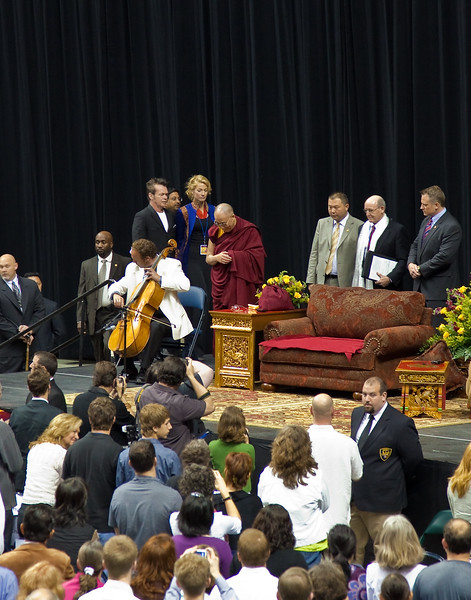 The Dalai Lama and friends