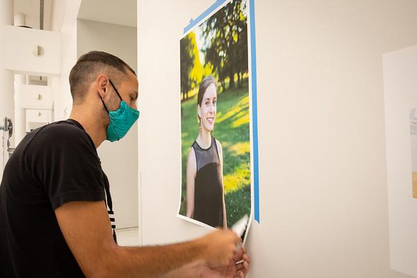 200390 Arts Collaboratory, Show Your Work, install, Jacob Vogan, CFA Atrium