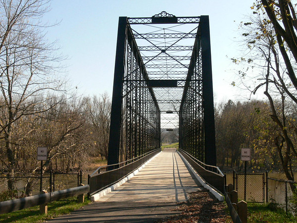 Laughery Creek Triple Whipple Bridge<br> Aurora, IN