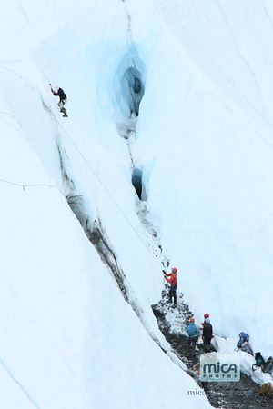 August 11 - Ice Climb with Chris and Nevins