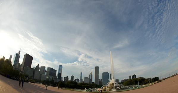 Chicago Skyline Screensaver