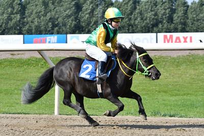 Ponnygalopp Jägersro 170809