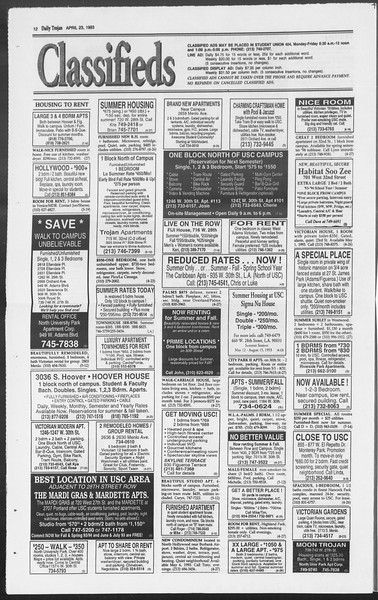 Daily Trojan, Vol. 119, No. 64, April 23, 1993