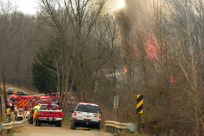 11-30-12 Walhonding Valley FD House Fire