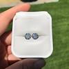4.08ctw Old European Cut Diamond Pair, GIA I VS2, I SI1 55