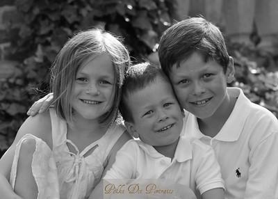 Adeline, George, Charlie