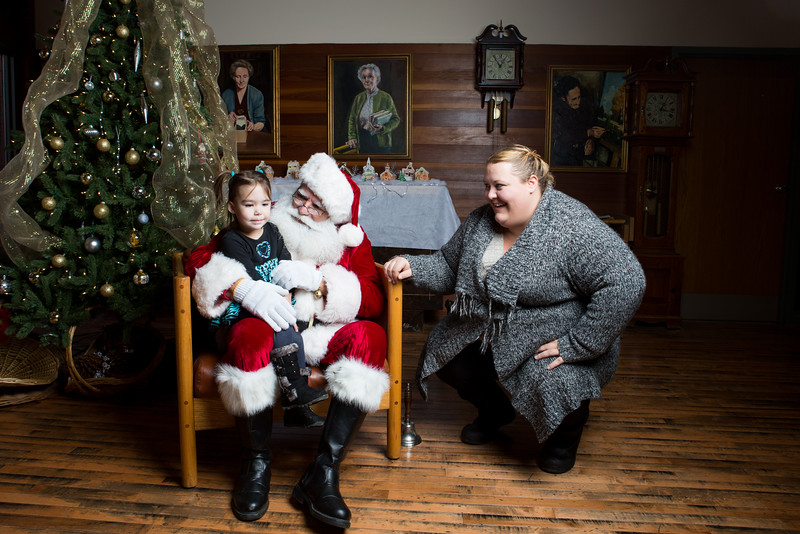 Richwood Library & Santa, Dec. 2016