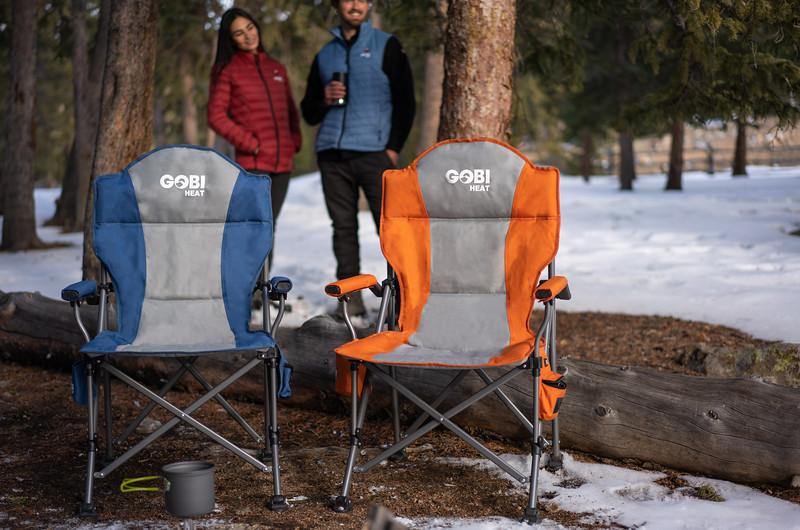 Gobi Heat | Heated Camp Chair (Photoshopped)