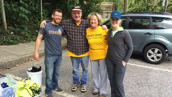 9.9.2017 Cooper Branch/#9 Trolley Trail Cleanup with Salem Lutheran Church