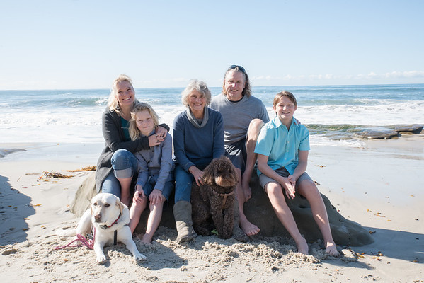 Windansea Beach La Jolla 92037 Family Portraits