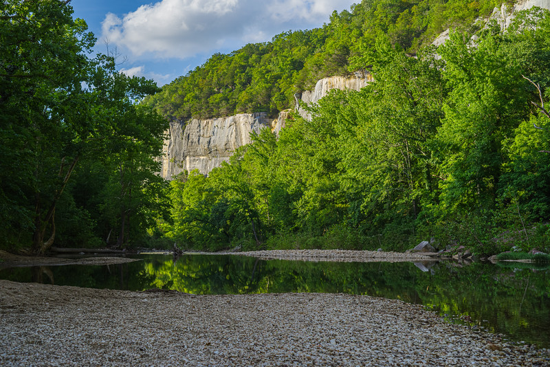Buffalo River bluffs at Steel Creek
