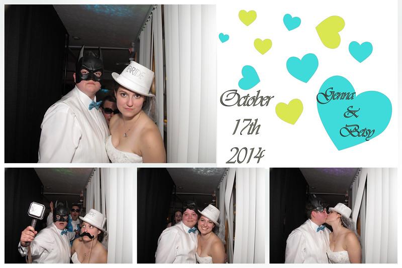 Betsy & Genna Wedding Photo Booth
