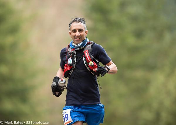 2014 Diez Vista trail run