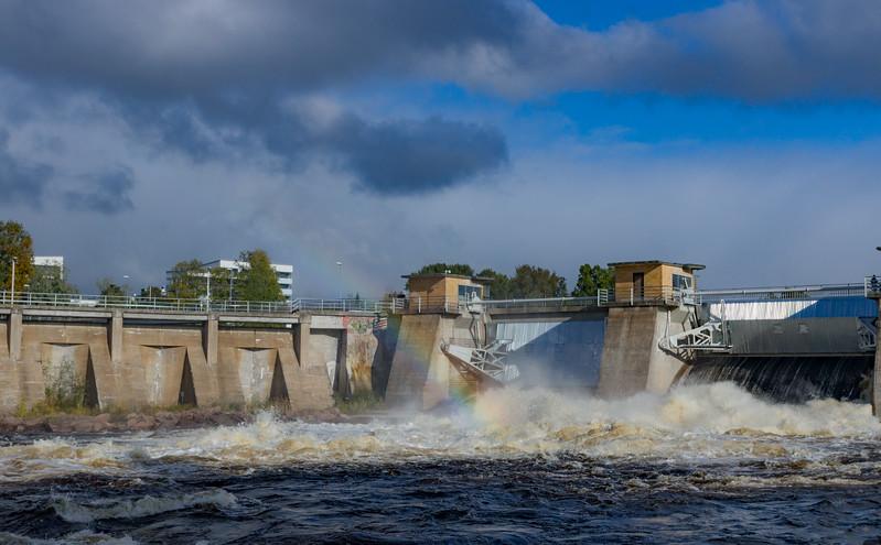 Merikoski hydro powerplant, Oulu