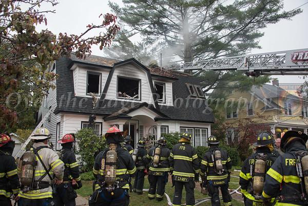 Freeport 3rd Alarm House Fire 10/30/2019