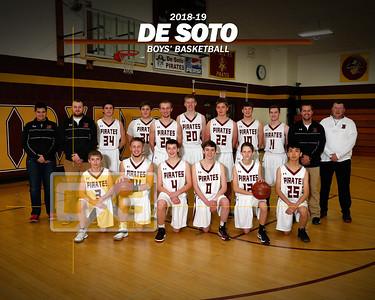 De Soto boy's basketball BBB1819