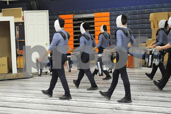 Pioneer Indoor Marching Band 3-4-18