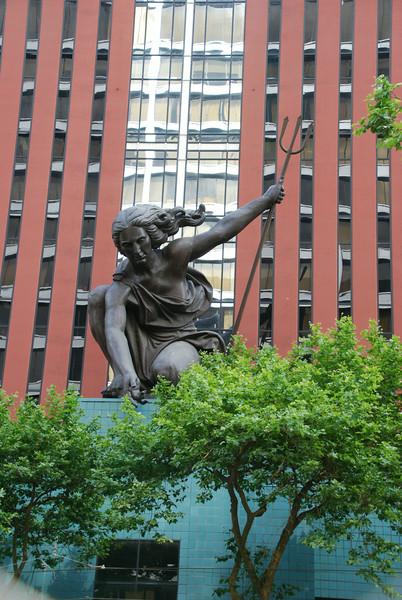 Portlandia statue