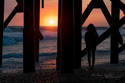 San Clement Pier Sunset - 8/20/2016