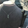 Tiffany & Co. Diamond and Tsavorite Bubble Pendant 24