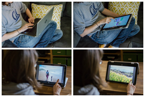 The four ways you can use the HP x360 convertible laptop