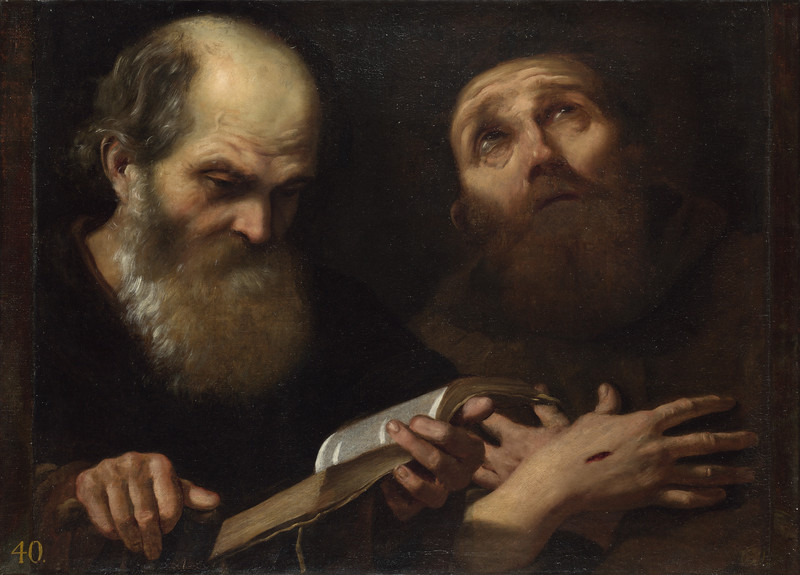 Saints Anthony Abbot and Francis of Assisi