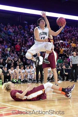 1A Boys State Championship game: Fleming vs Shining Mountain - March 12th 2016