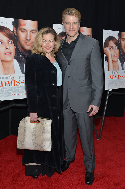". Billie Wildrick and Ed Watts attend the ""Admission\"" New York Premiere at AMC Loews Lincoln Square 13 on March 5, 2013 in New York City.  (Photo by Mike Coppola/Getty Images)"
