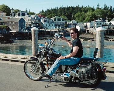 1999 - motorcycle trip - Quebec - Halifax