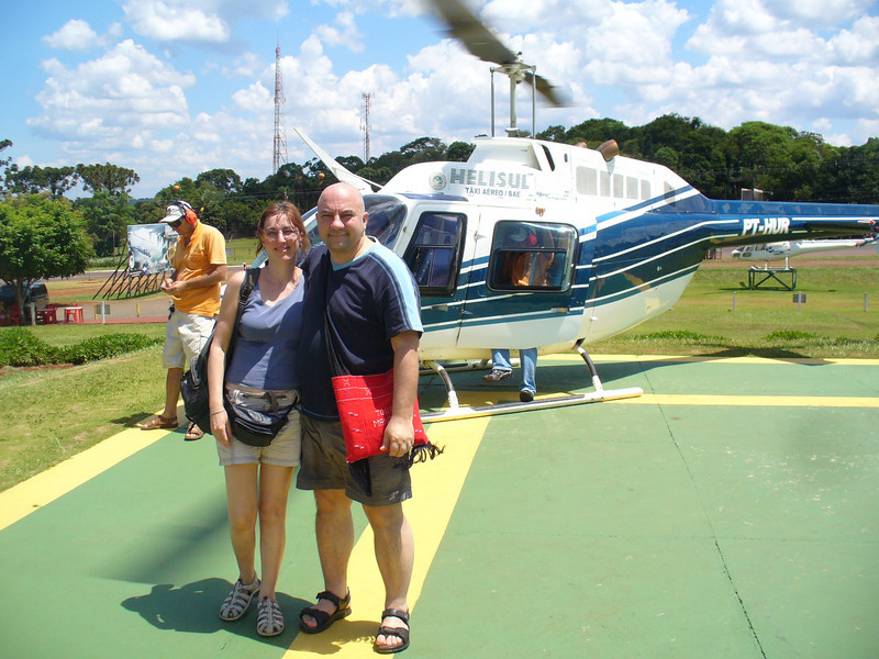 001 Iguacu Falls, Helicopter Tour, Luce and JD.jpg