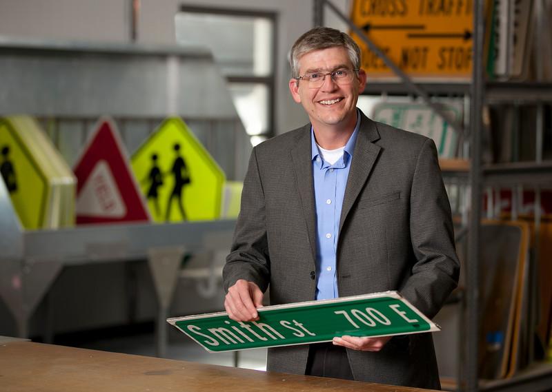 Dan Smith - Director, Public Works; wide