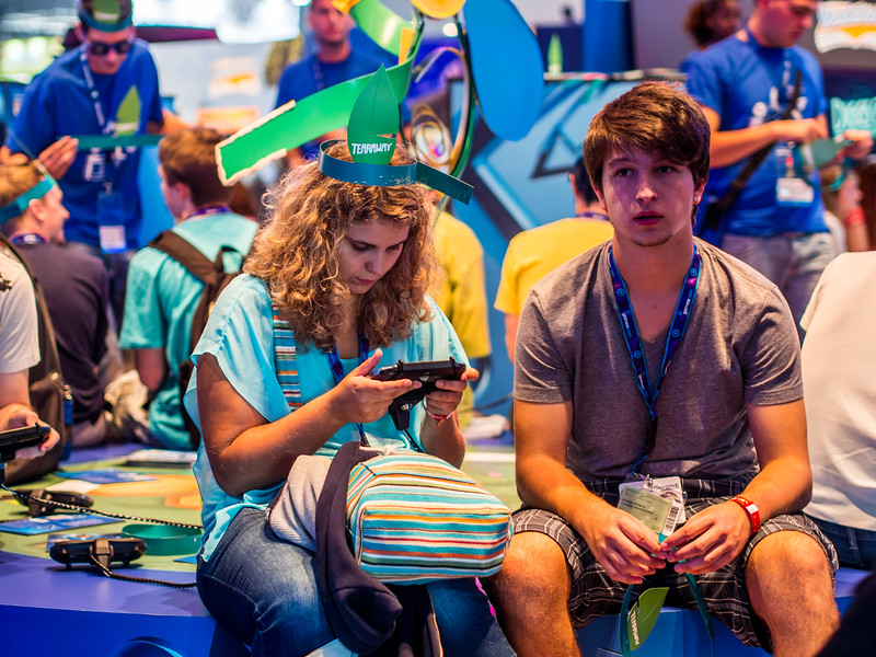Couple at Gamescom 2013